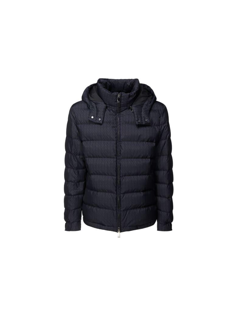 Valentino Down Jacket - Navy/navy
