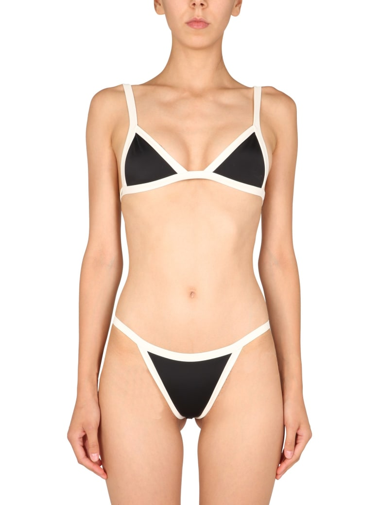 Oseree Bicolour Bikini - NERO