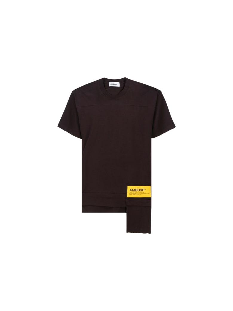 AMBUSH T-shirt - Chocolate torte sol