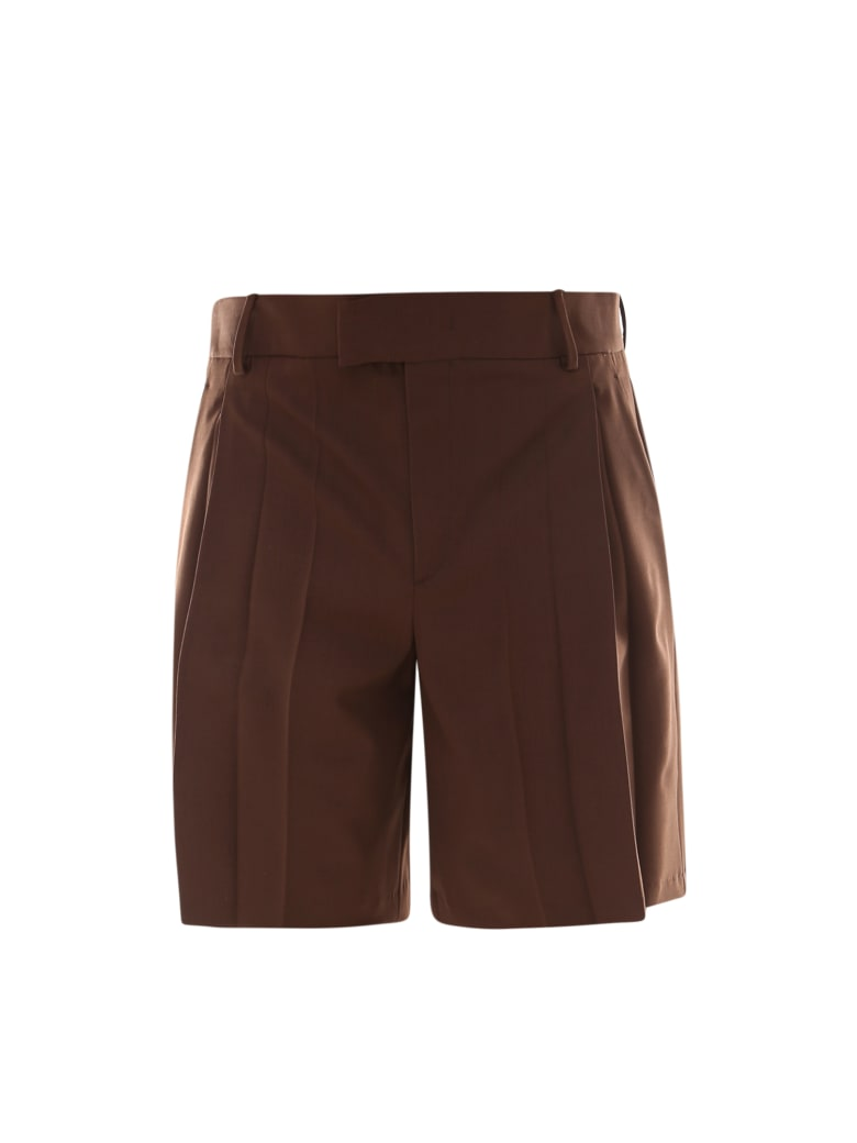 Valentino Bermuda Shorts - Brown