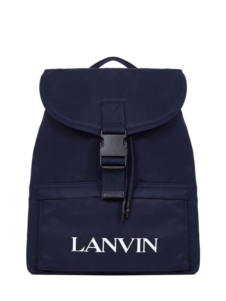 Lanvin Kids Backpack - Blu marino
