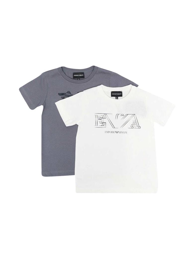 Emporio Armani T-shirt Set - Bianco