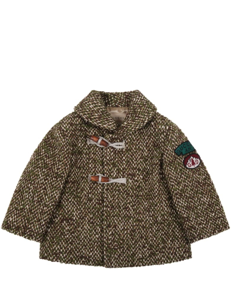 Gucci Green Montgomery For Baby Kids - Multicolor