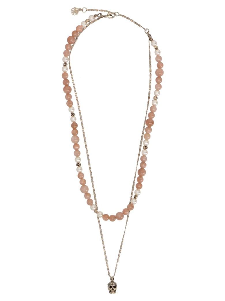 Alexander McQueen 'beads Double' Necklace - Multicolor