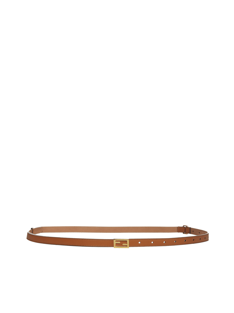 Fendi Belt - Cuoio+oro soft