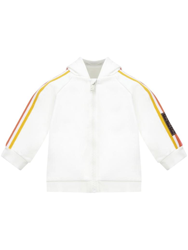 Fendi Kids Sweatshirt - White