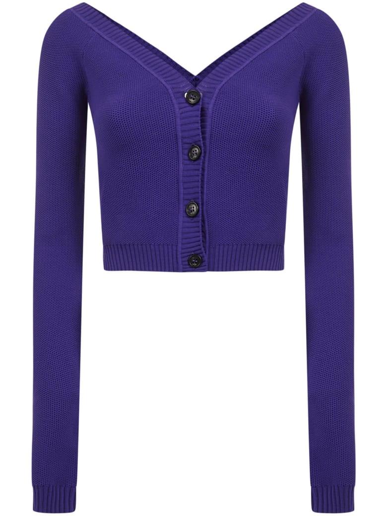 N.21 N°21 Cardigan - Purple