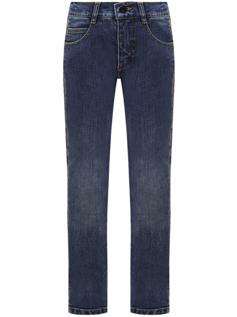 Fendi Kids Jeans - Blue