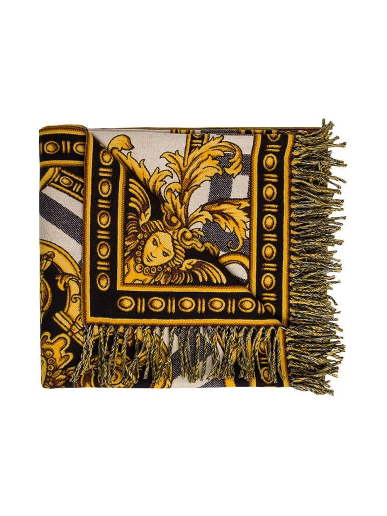 Versace La Coupe Des Dieux Wool Blanket - Multicolor