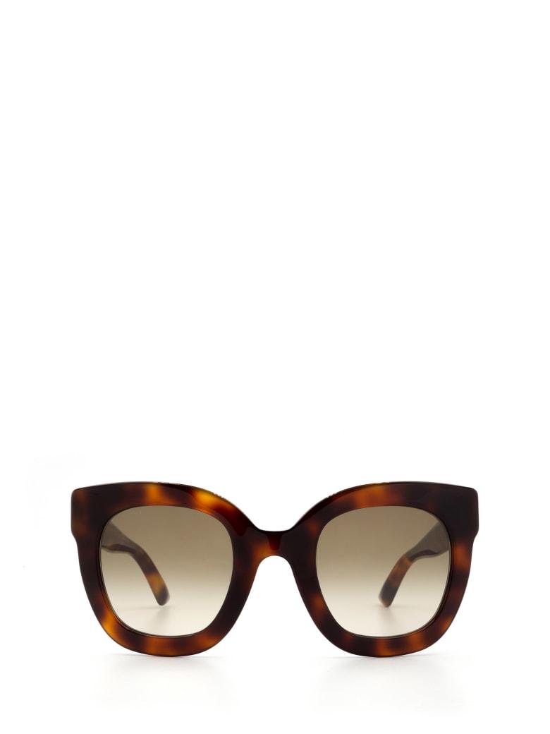 Gucci Gucci Gg0208s Havana Sunglasses - Havana