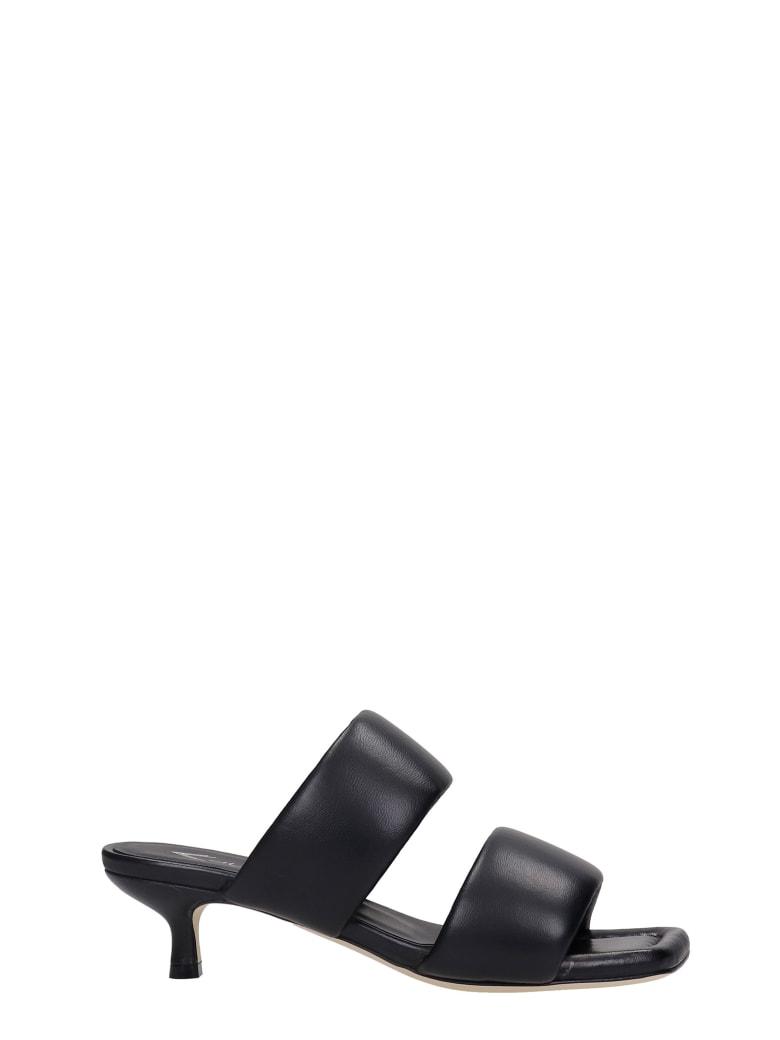 Alchimia Sandals In Black Leather - black