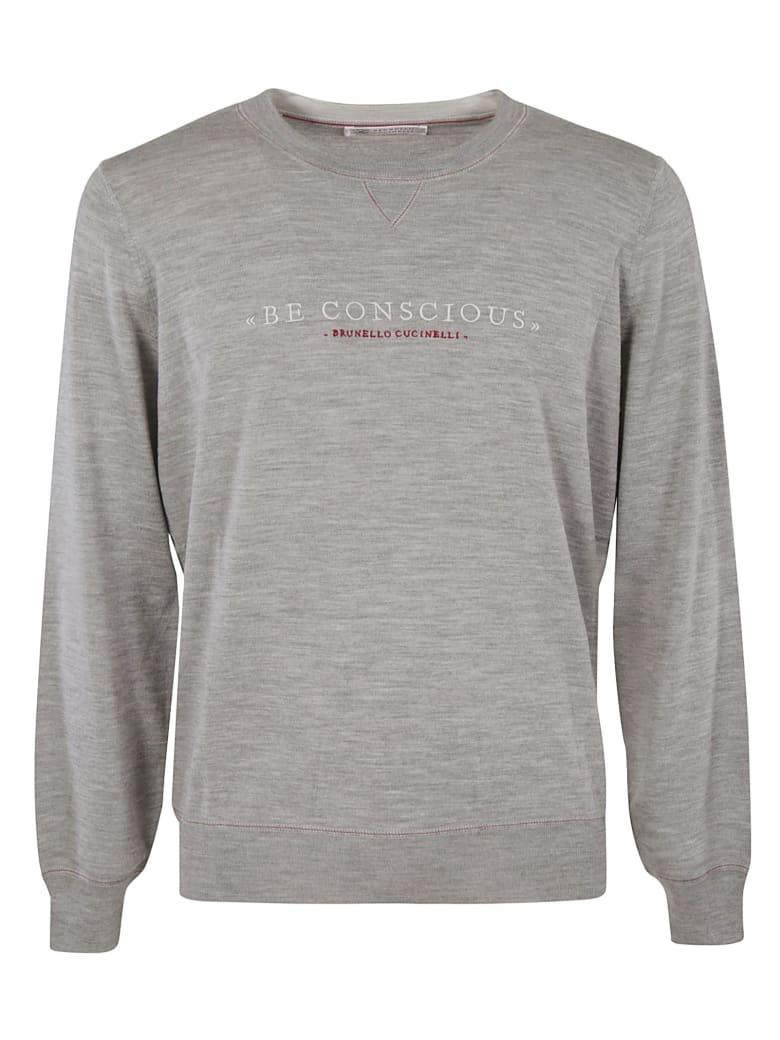 Brunello Cucinelli Be Conscious Sweater - Grey Chiaro