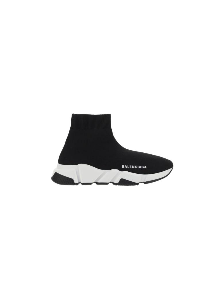 Balenciaga Speed Sneakers - Black/white/black