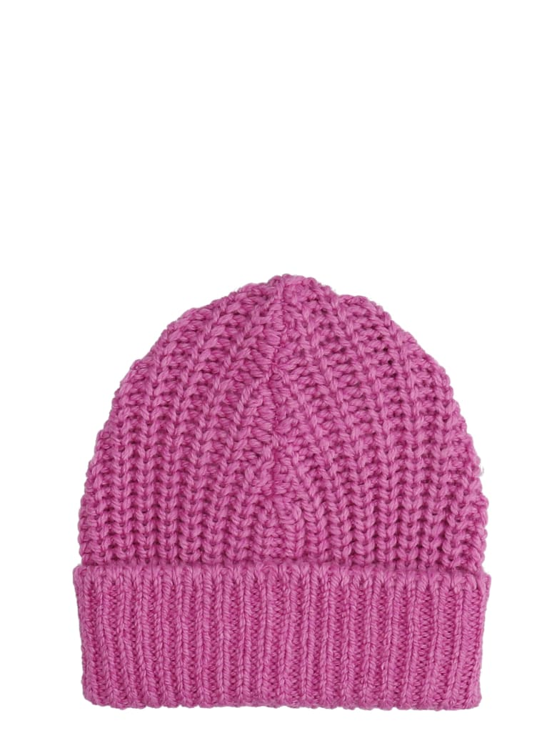 Isabel Marant Joyce Hats In Rose-pink Wool - rose-pink