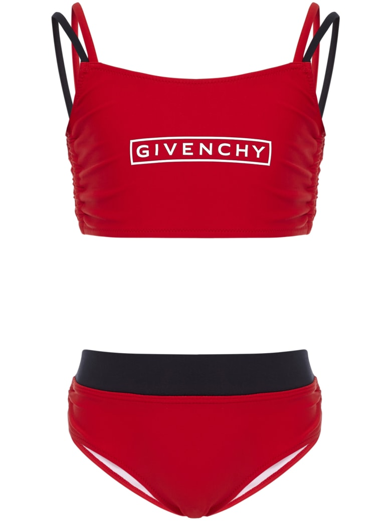 Givenchy Kids Swimsuit - Rosso