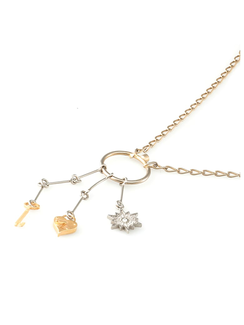 Maison Margiela Silver Necklace - Yellow Gold Plating + Silver