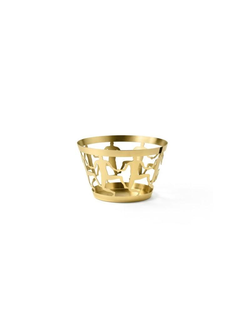 Ghidini 1961 Medium Bowl Polished Gold - Polished gold
