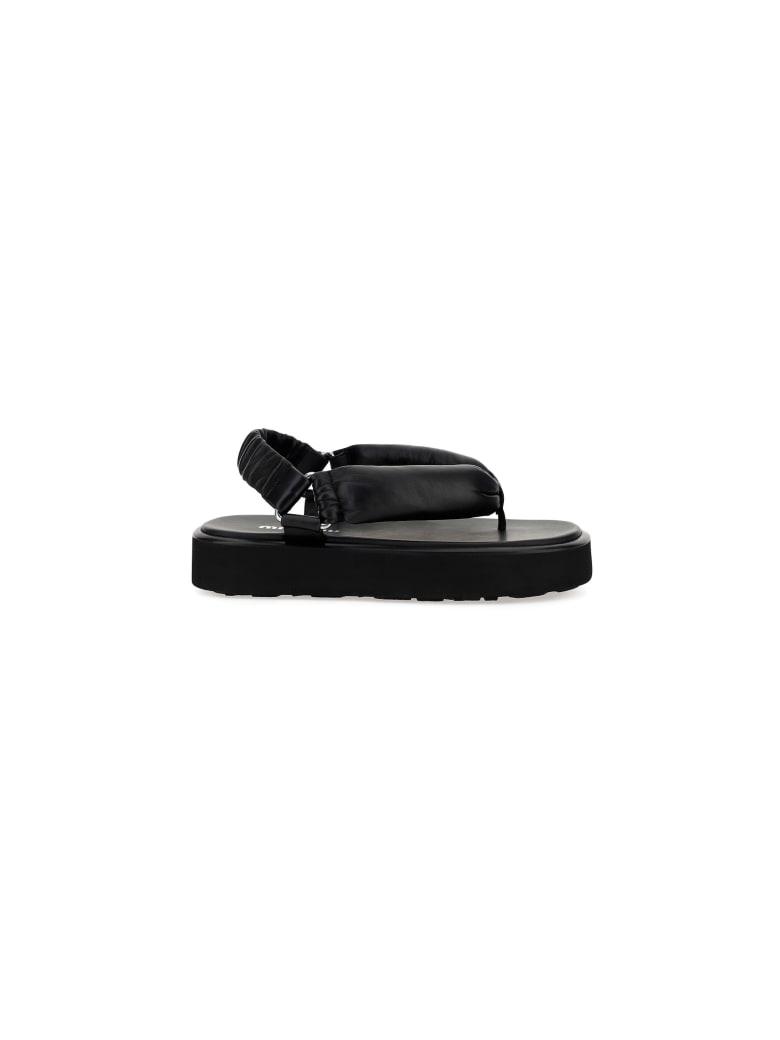 Miu Miu Sandals - Black