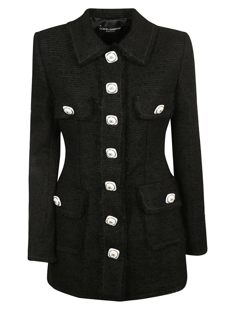 Dolce & Gabbana Multi-pocket Blazer - Black