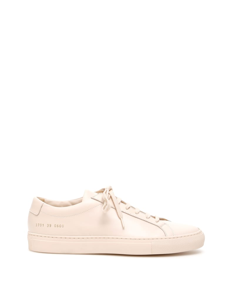 Common Projects Original Achilles Leather Sneakers - NUDE (Pink)