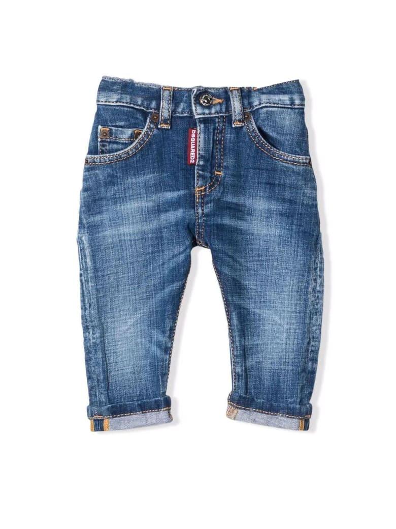 Dsquared2 Denim Blue Cotton Jeans - Denim