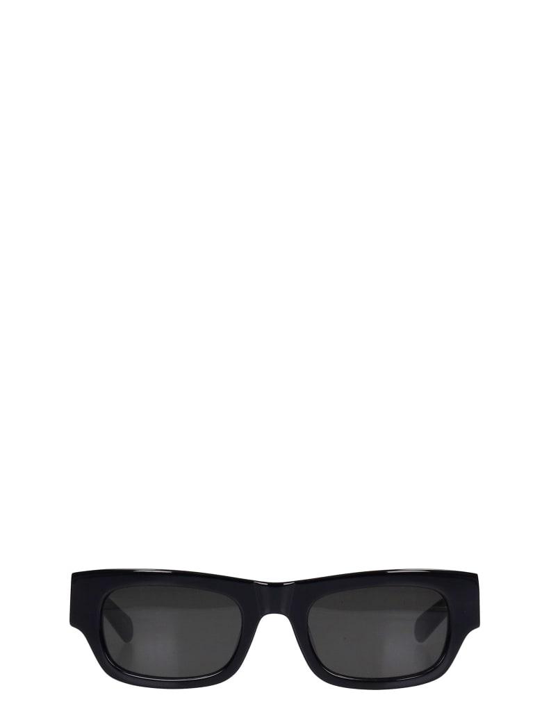 Flatlist Franky Sunglasses In Black Pvc - black