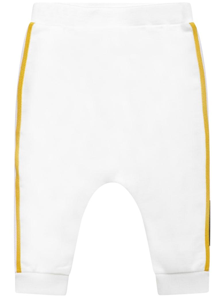 Fendi Kids Trousers - White