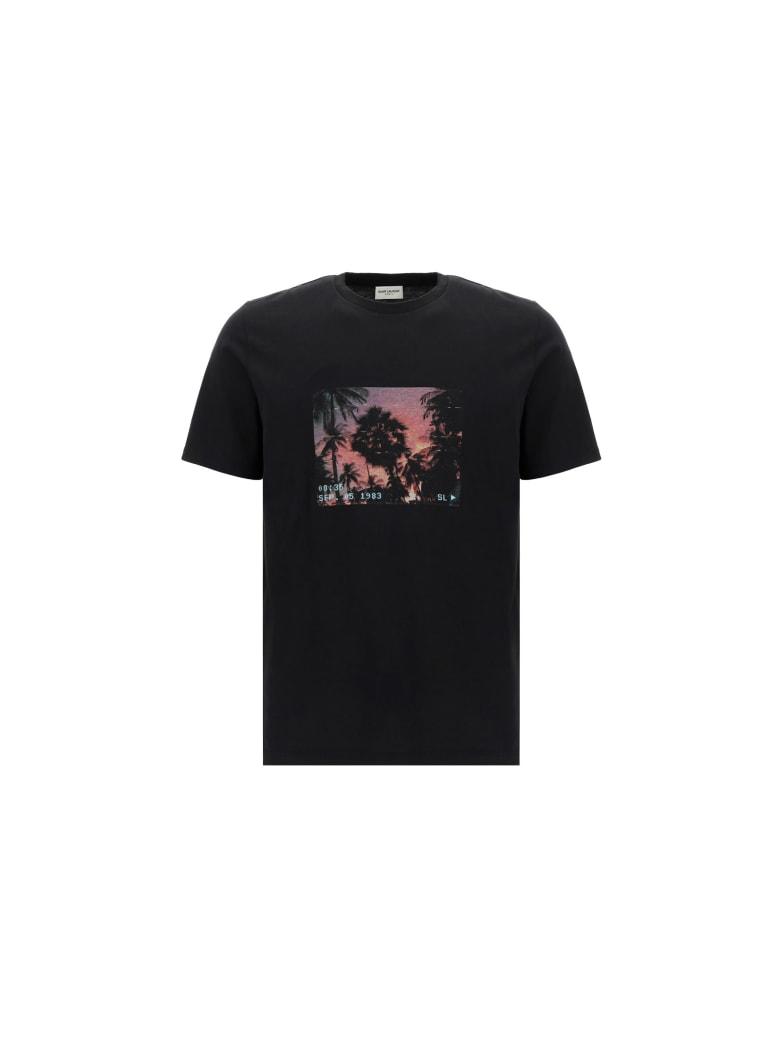Saint Laurent T-shirt - Noir/multicolore