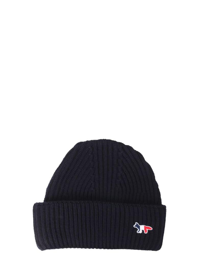 Maison Kitsuné Knitted Hat - BLU