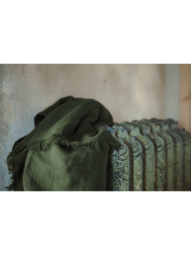 Once Milano Linen Throw Summer - Green