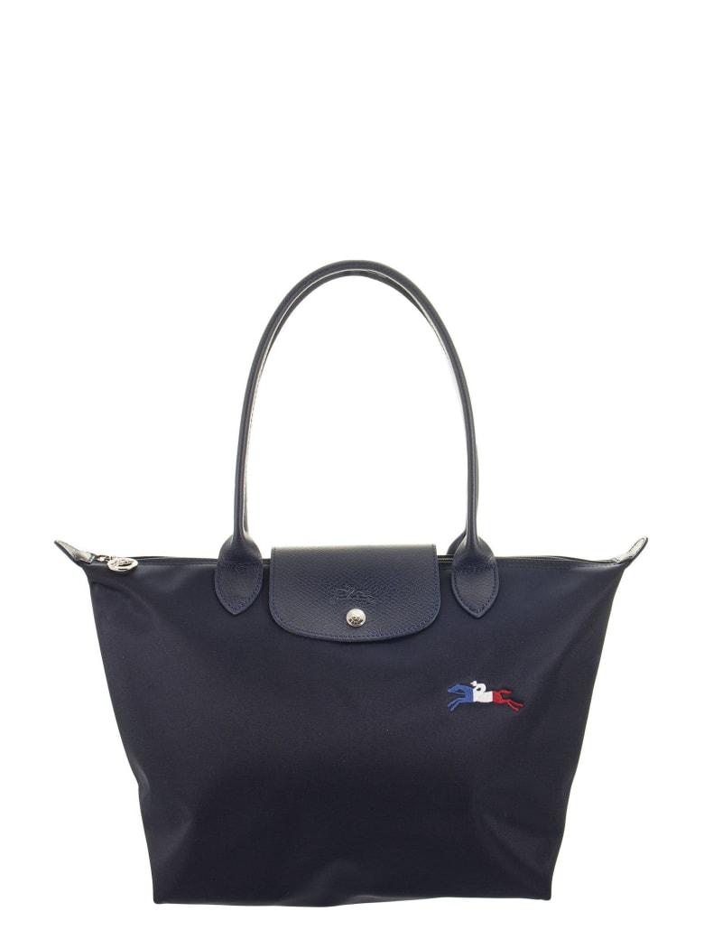 Longchamp Le Pliage Très Paris - Shoulder Bag S - Navy