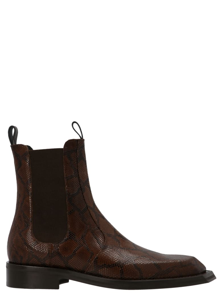 Martine Rose 'chiesel Toe' Shoes - Brown