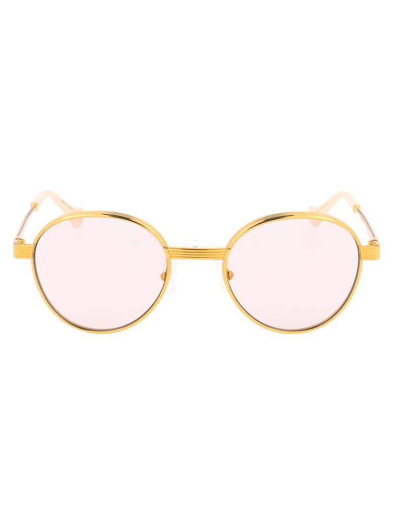 Gucci Gg0872s Sunglasses - 001 GOLD GOLD YELLOW