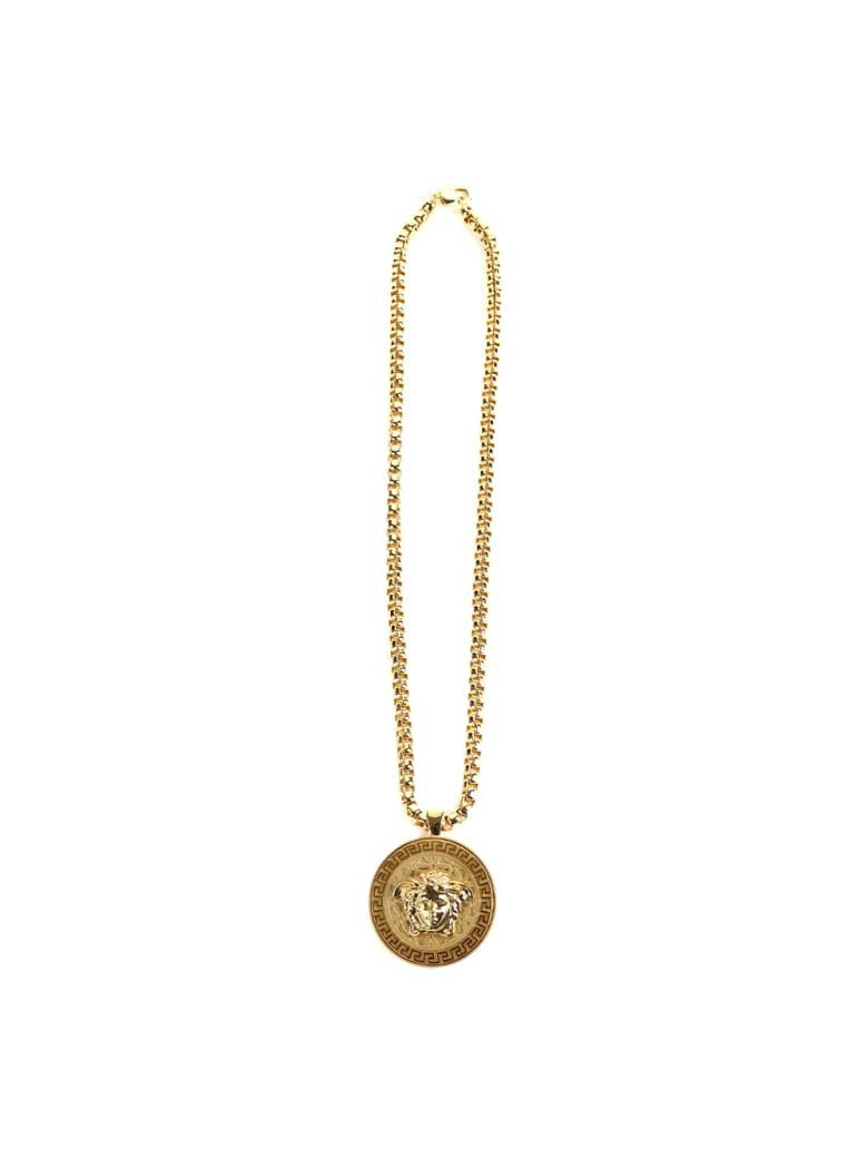 Versace Medusa Metal Necklace - Gold