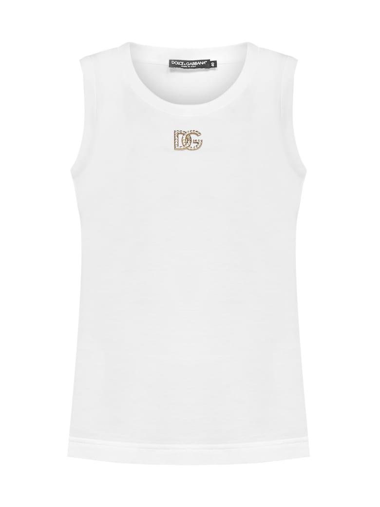 Dolce & Gabbana Top - Bianco ottico