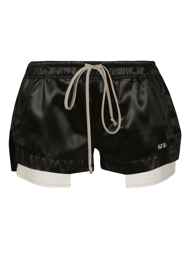Rick Owens Drawstring Waist Boxer Shorts - Black