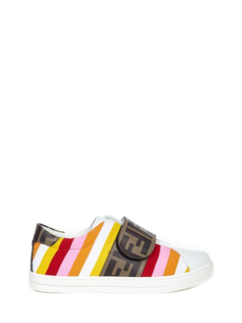 Fendi Kids Sneakers - White