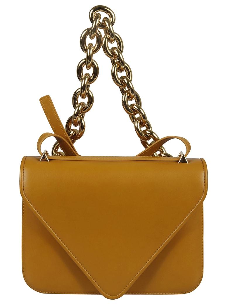Bottega Veneta Envelope Shoulder Bag - Brown/Gold