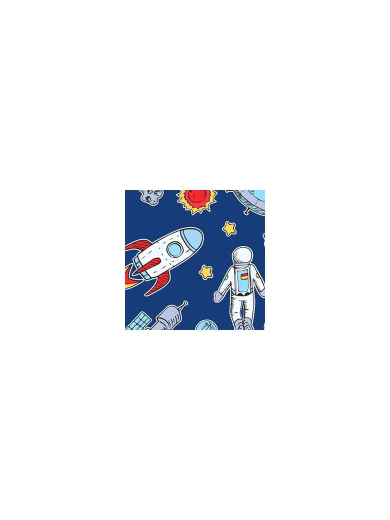 MC2 Saint Barth Astronauts Print Boy's Swim Briefs