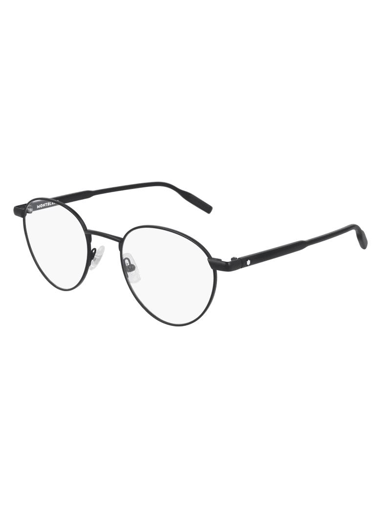 Montblanc MB0115O Eyewear - Black Black Transpare