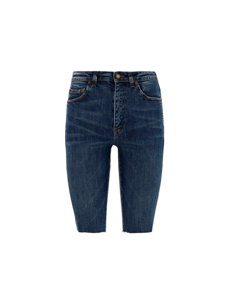Saint Laurent Denim Shorts - Rain blue