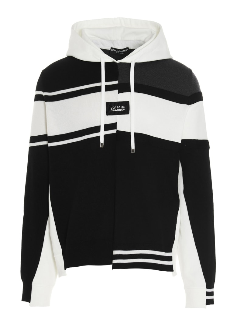 Dolce & Gabbana Hoodie - Black&White
