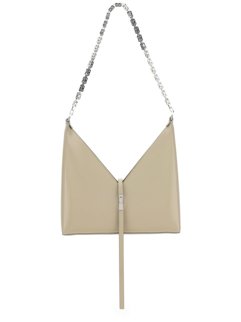 Givenchy Cut Out Small Chain Bag - Beige