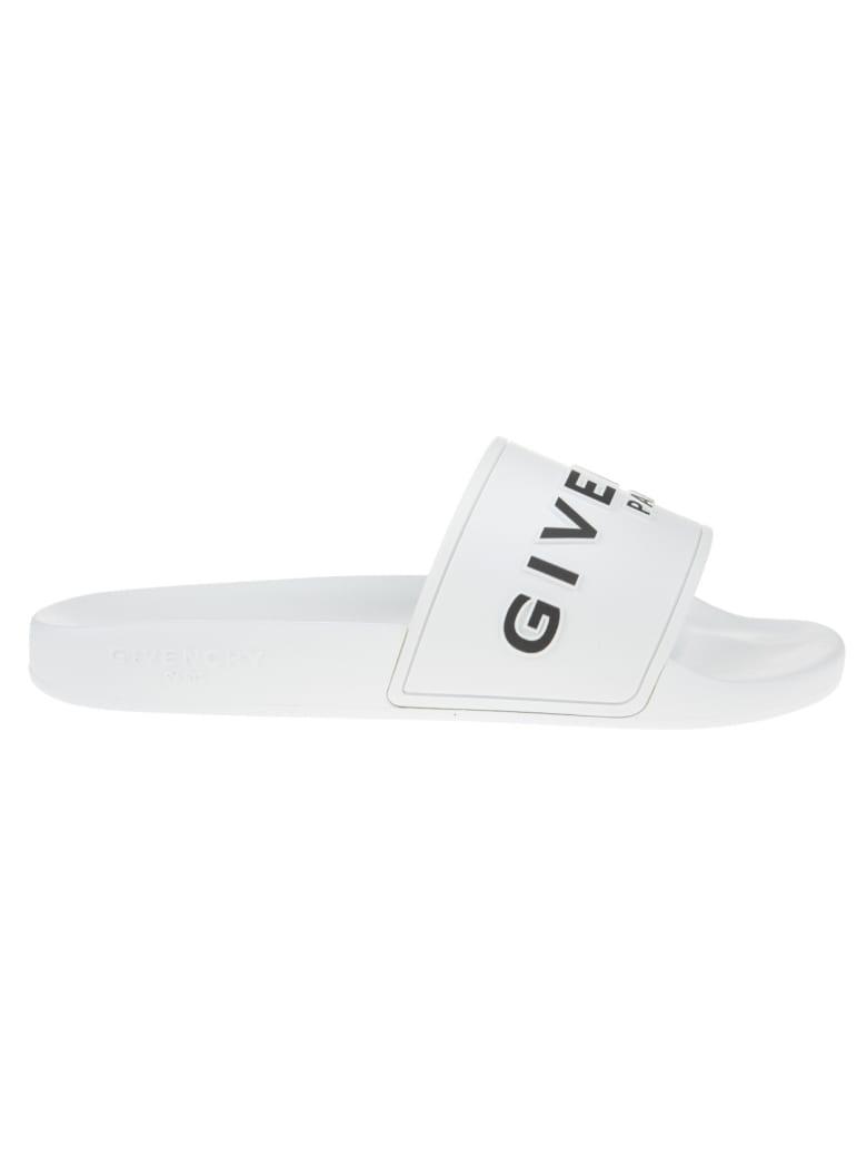 Givenchy Logo-print Slides
