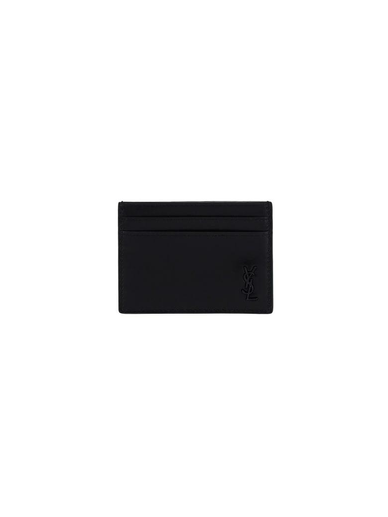 Saint Laurent Card Holder - Nero