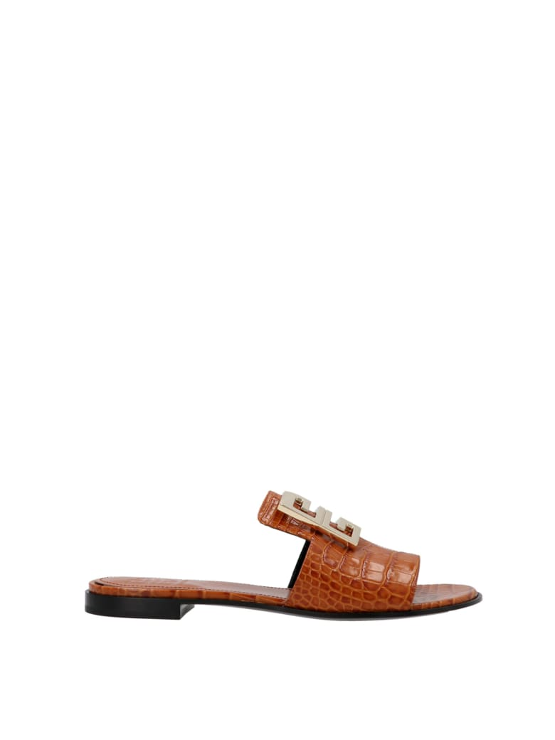 Givenchy '4g' Shoes - Brown