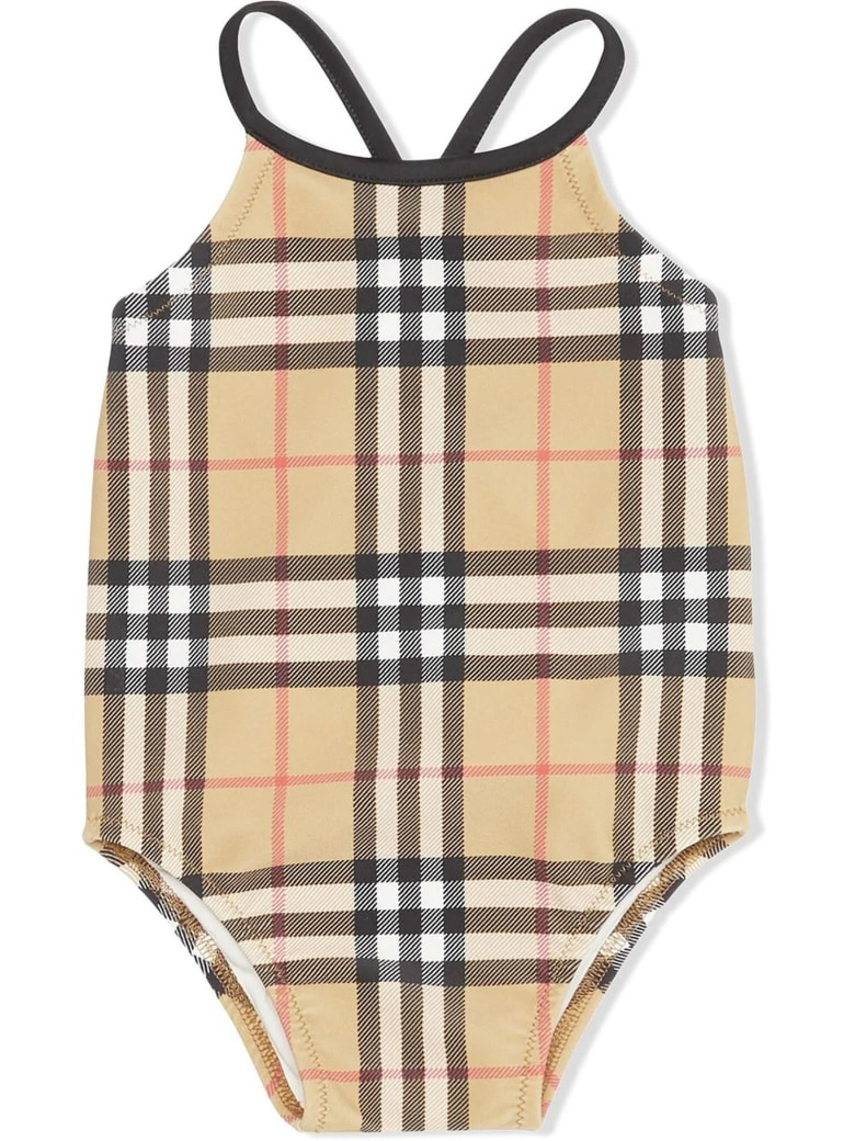 Burberry Check-print Swimsuit - Check