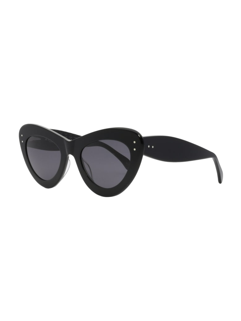 Alaia AA0046S Sunglasses - Black Black Grey