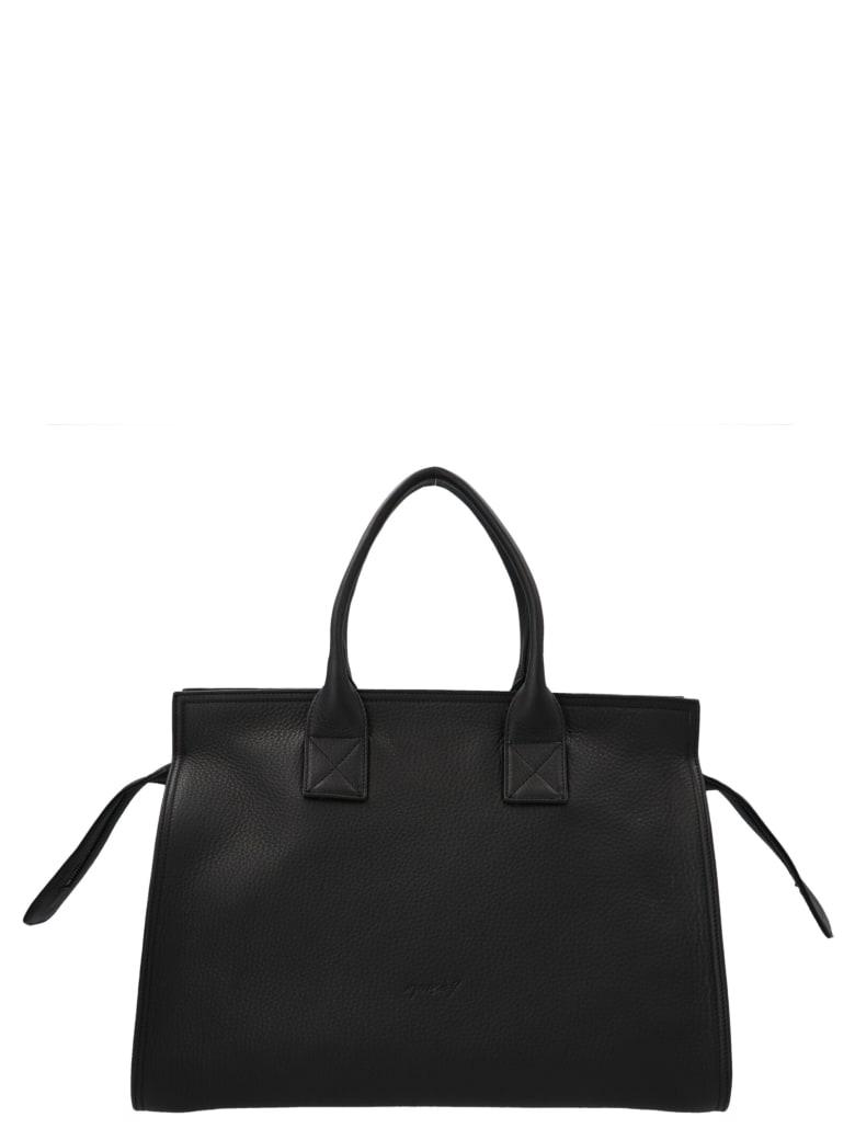Marsell 'curva' Medium Bag - Black