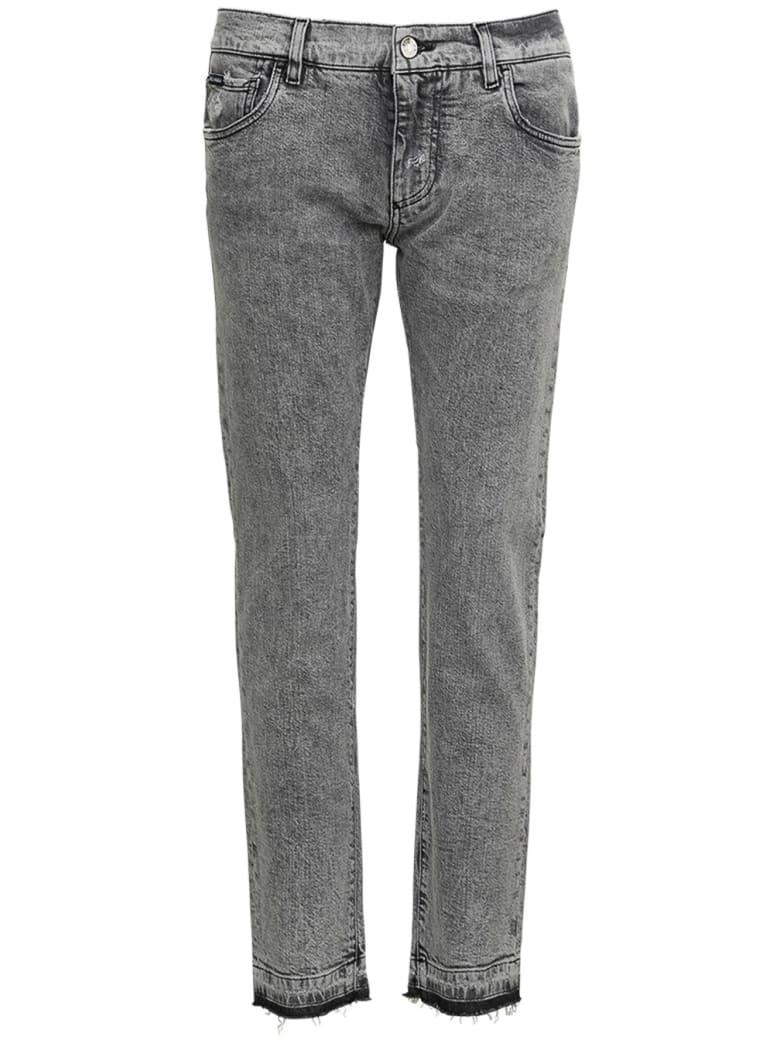 Dolce & Gabbana Gray Denim Jeans - Grey